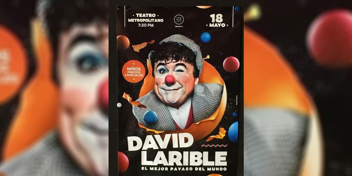 18 maggio 2017 Prima tappa de Il Clown dei due mondi - David Larible