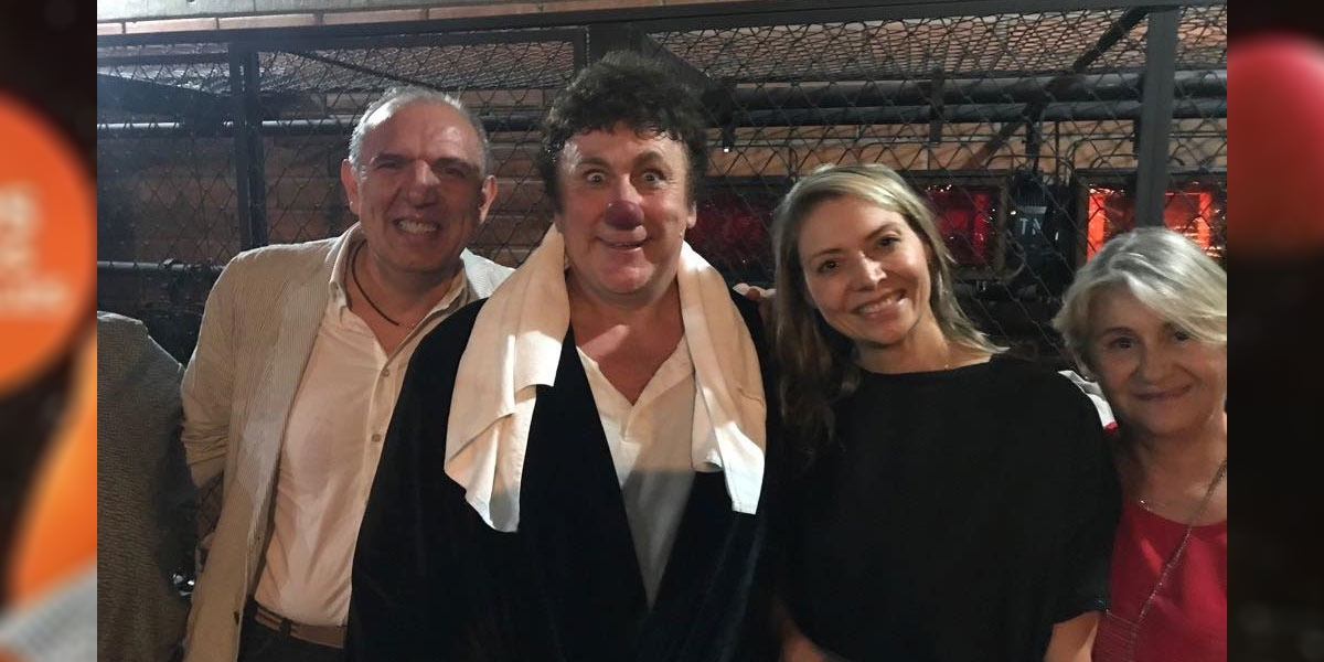 Con il Console Onorario Roberto Rossetti - David Larible