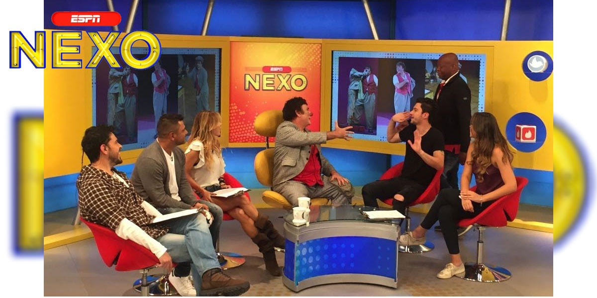 David Larible ospite a nexo su ESPN