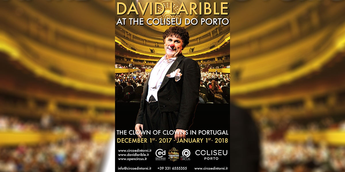 David Larible al Coliseu do Porto