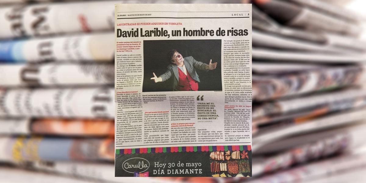 David Larible un hombre de risas - El Diario