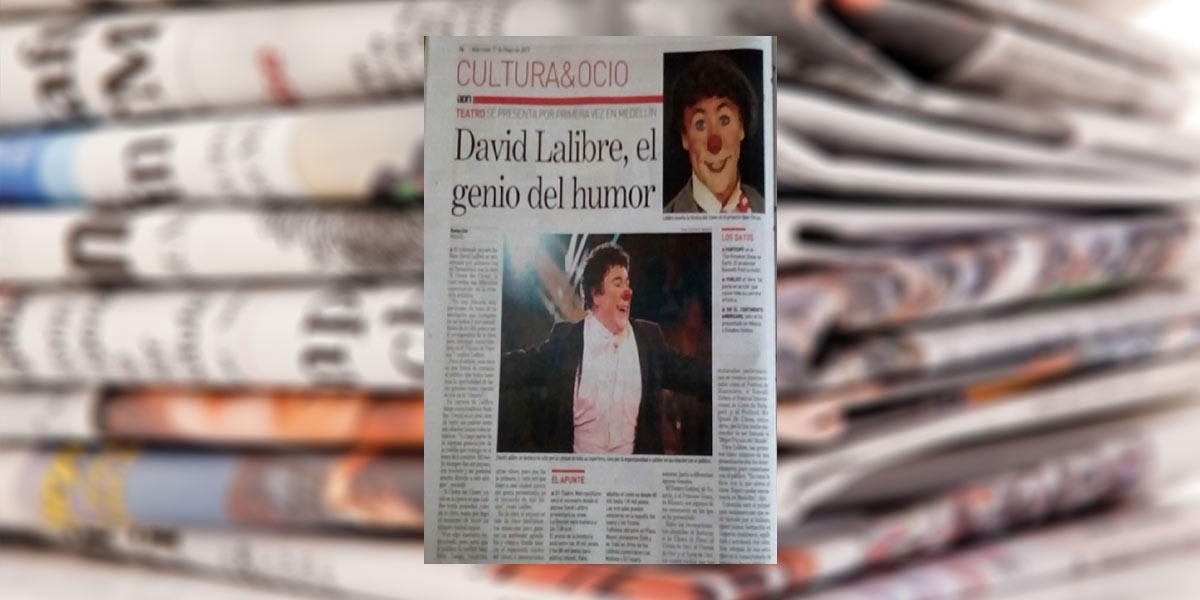 David Larible, el genio del humor