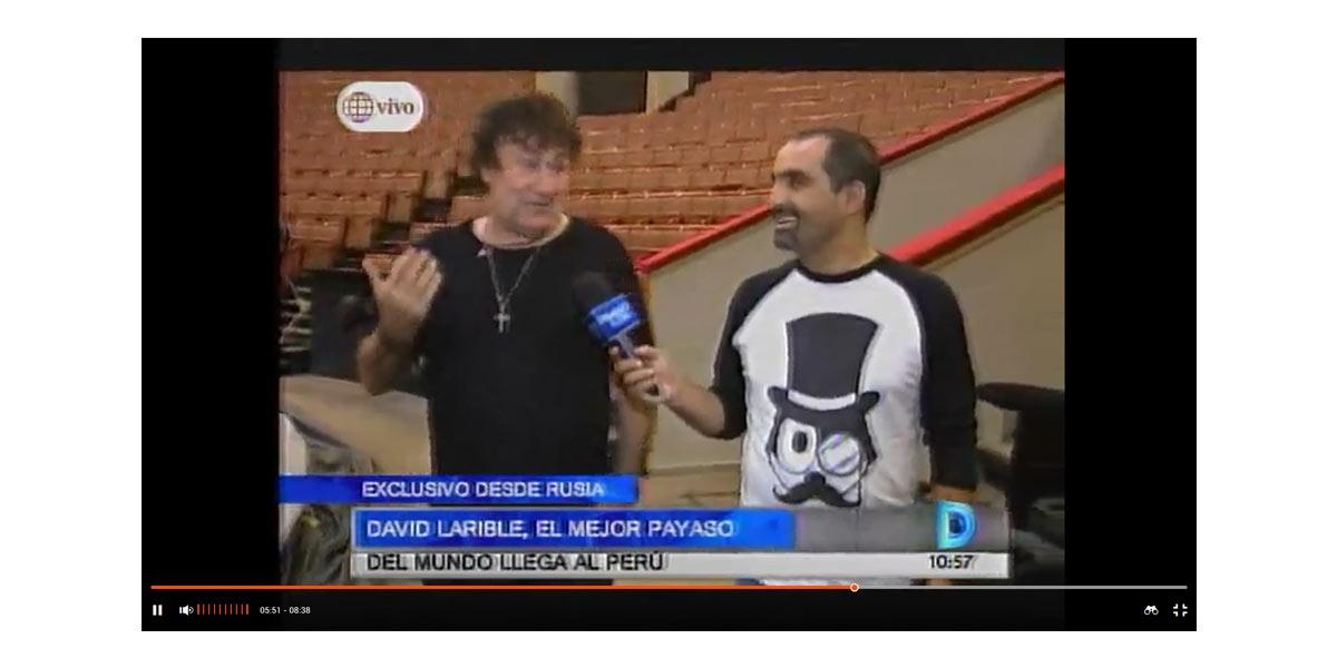 David Larible, el mejor payaso del mundo llega al Perú