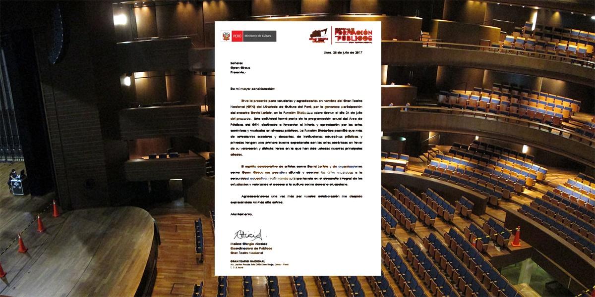 Gran Teatro Nacional de Lima - David Larible