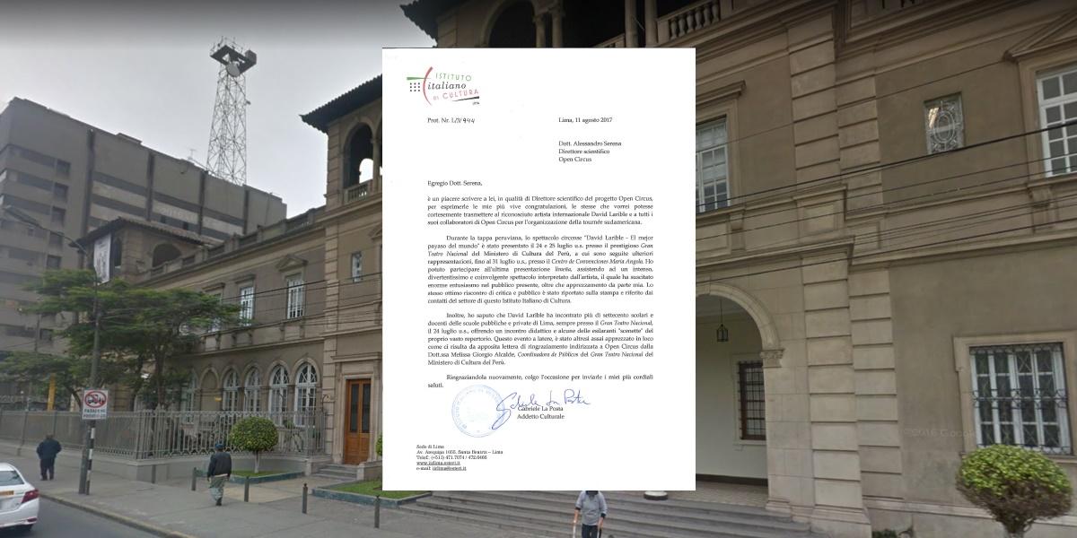 Istituto Italiano della Cultura sede di Lima - David Larible